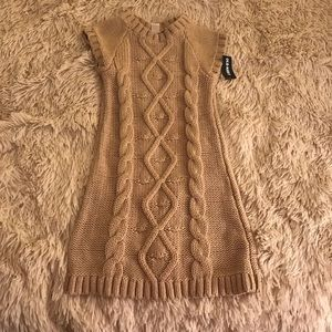 NWT Old Navy Cable Knit Dress 4/4T